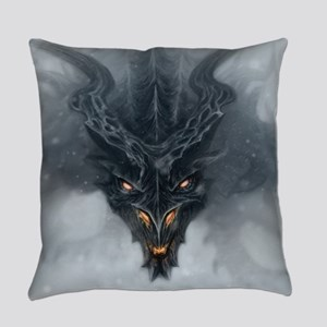 Evil Dragon Everyday Pillow