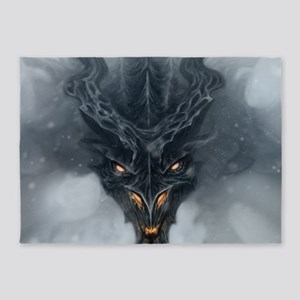 Evil Dragon 5'x7'Area Rug