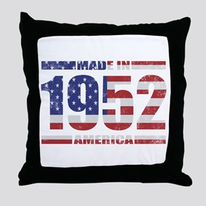 1952 Made In America Throw Pillow