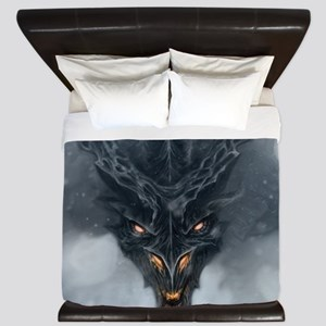 Evil Dragon King Duvet