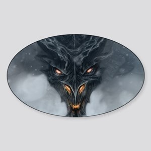 Evil Dragon Sticker