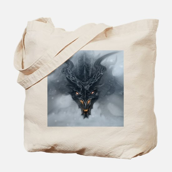 Evil Dragon Tote Bag