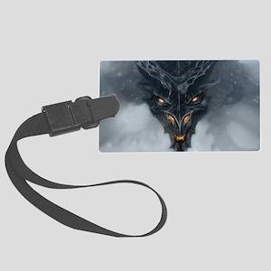 Evil Dragon Large Luggage Tag