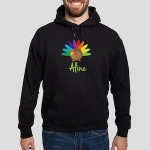 Aline the Turkey Hoodie (dark)