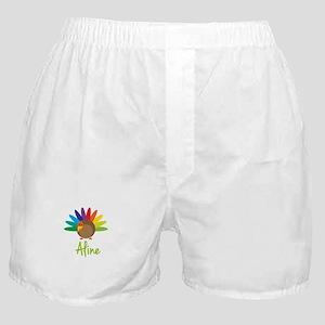 Aline the Turkey Boxer Shorts