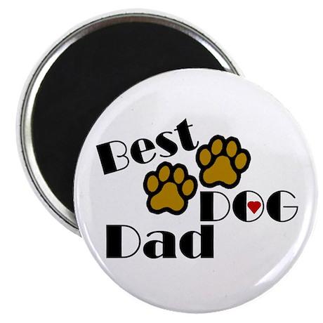 Best Dog Dad Magnet