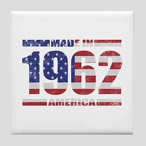 1962 Made In America Tile Coaster
