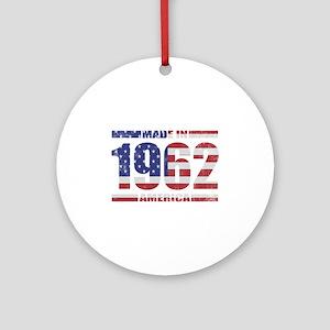 1962 Made In America Ornament (Round)