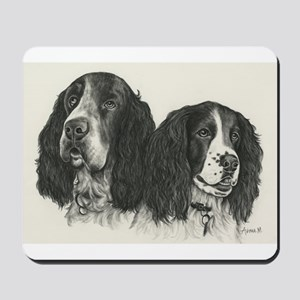 Darcy and Jemma Mousepad