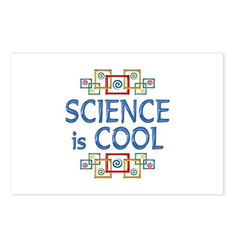 Science is Cool Postcards (Package of 8)