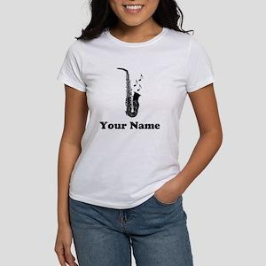 Personalized Saxophone Women's T-Shirt