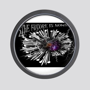 Jmcks The Future IS Now Wall Clock