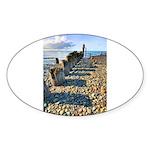 Old Pier Sticker (Oval 50 pk)
