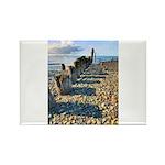 Old Pier Rectangle Magnet (100 pack)