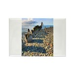 Old Pier Rectangle Magnet (10 pack)