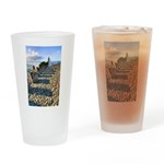 Old Pier Drinking Glass