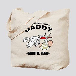 Funny Daddy To Be Personalized Tote Bag