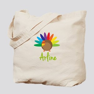 Arline the Turkey Tote Bag