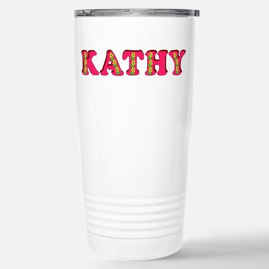 Kathy Stainless Steel Travel Mug