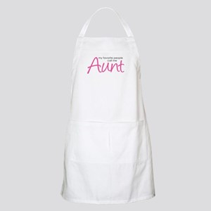 Favorite People Call Me Aunt Apron