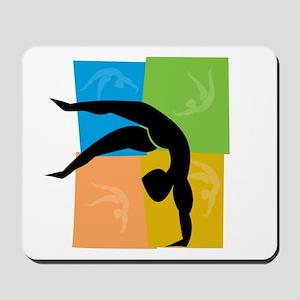 Gymnastics 2 Mousepad