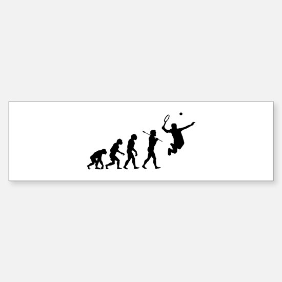 Evolve - Tennis Sticker (Bumper)