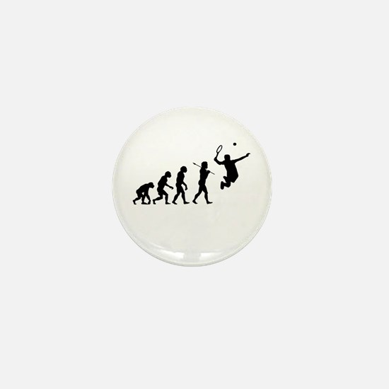 Evolve - Tennis Mini Button
