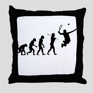 Evolve - Tennis Throw Pillow