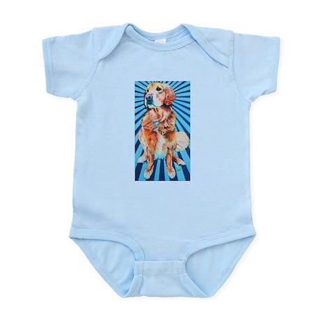 Starburst Golden Infant Bodysuit