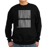 Bar Code 11-11-11 Sweatshirt (dark)
