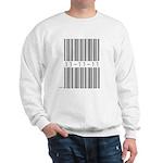 Bar Code 11-11-11 Sweatshirt