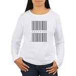 Bar Code 11-11-11 Women's Long Sleeve T-Shirt