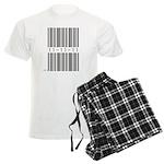 Bar Code 11-11-11 Men's Light Pajamas