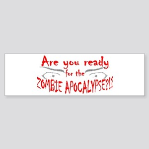 Are You Ready Sticker (Bumper)