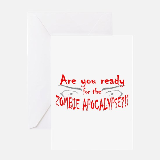 Are You Ready Greeting Card