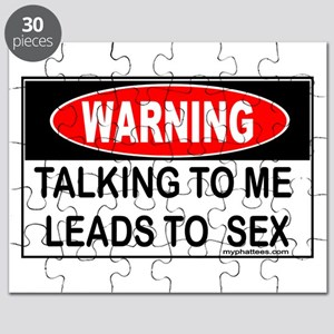 WARNING Talking to Me Leads to Sex Puzzle