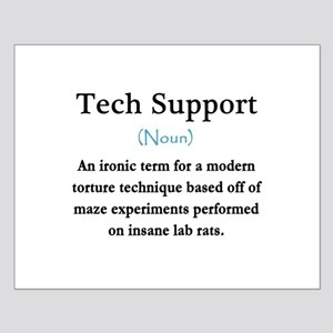 Tech Support Small Poster