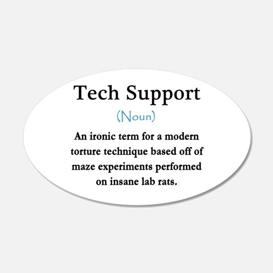 Tech Support Wall Decal
