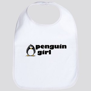 Penguin girl Bib