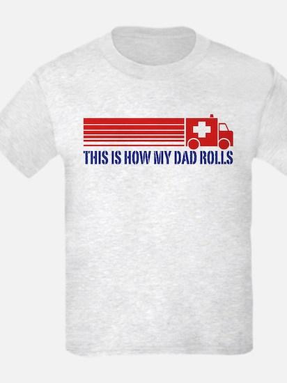 EMT Paramedic Dad T-Shirt