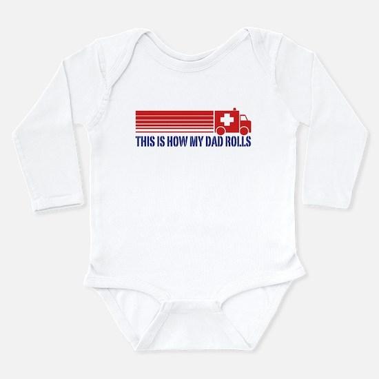 EMT Paramedic Dad Long Sleeve Infant Bodysuit