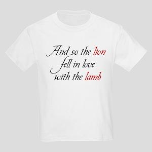 Lion Lamb Kids Light T-Shirt