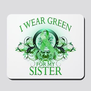 I Wear Green for my Sister (f Mousepad