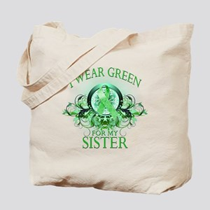I Wear Green for my Sister (f Tote Bag