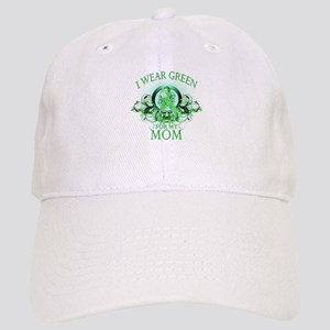 I Wear Green for my Mom (flor Cap