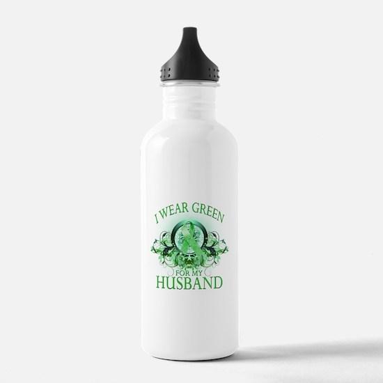 I Wear Green for my Husband ( Water Bottle