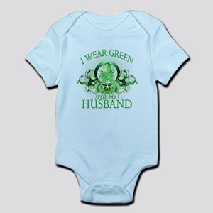 I Wear Green for my Husband ( Infant Bodysuit