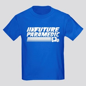 Future Paramedic Kids Dark T-Shirt