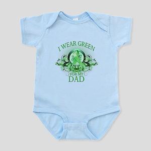 I Wear Green for my Dad (flor Infant Bodysuit