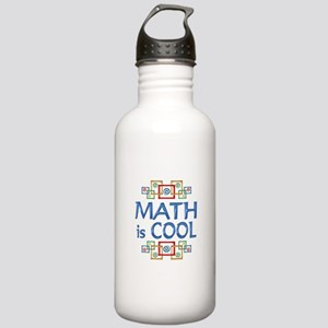 Math is Cool Stainless Water Bottle 1.0L